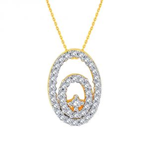 Buy Gili Yellow Gold Diamond Pendant Ep724si-jk18y online