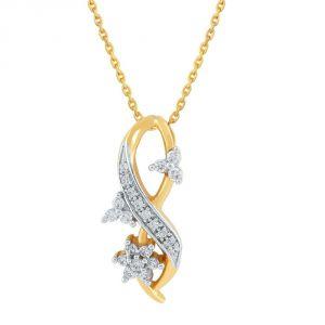 Buy Nakshatra Yellow Gold Diamond Pendant Nrp130si-jk18y online