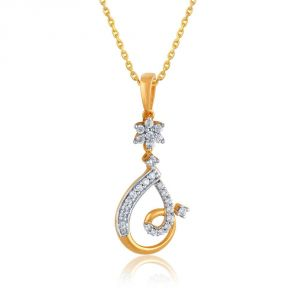 Buy Maya Diamond Yellow Gold Diamond Pendant Pp11879si-jk18y online