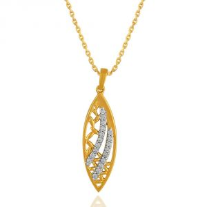 Buy Maya Diamond Yellow Gold Diamond Pendant online