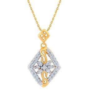 Buy Asmi Yellow Gold Diamond Pendant Pp13297si-jk18y online
