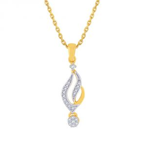 Buy Nirvana Yellow Gold Diamond Pendant online