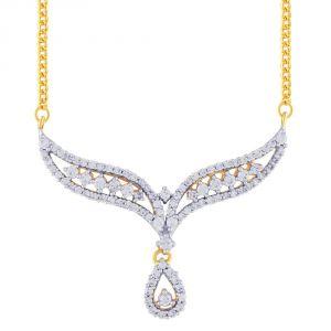 Buy Sangini Yellow Gold Diamond Tanmaniya Fp370si-jk18y online