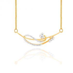 Buy Sangini Yellow Gold Diamond Tanmaniya online