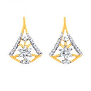Buy Nakshatra Yellow Gold Diamond Earrings Baep726si-jk18y online