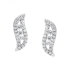 Buy Gili Yellow Gold Diamond Earrings Ce4966si-jk18y online
