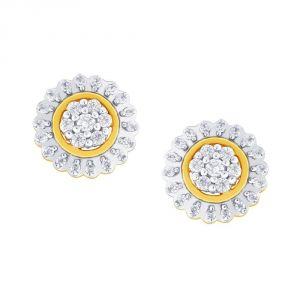 Buy Nakshatra Yellow Gold Diamond Earrings Nera036si-jk18y online