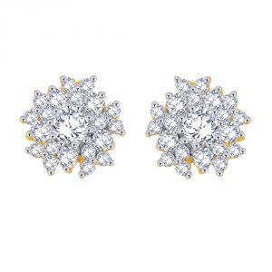 Buy Nakshatra Yellow Gold Diamond Earrings Sera002si-jk18y online