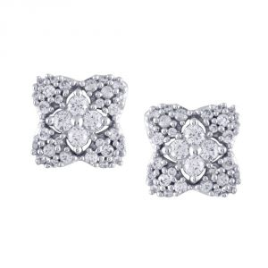 Buy Sangini Yellow Gold Diamond Earrings Ue437si-jk18y online