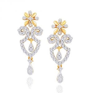 Buy Gili Yellow Gold Diamond Earrings Yde00517si-jk18y online