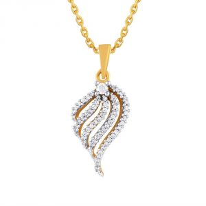 Buy Asmi Yellow Gold Diamond Pendant Aap651si-jk18y online