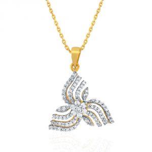 Buy Nakshatra Yellow Gold Diamond Pendant Abp123si-jk18y online