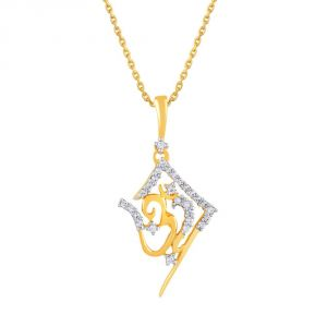 Buy Saumya Yellow Gold Diamond Pendant Lp5061si-jk18y online