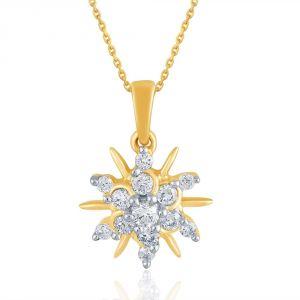 Buy Nakshatra Yellow Gold Diamond Pendant Npa033si-jk18y online