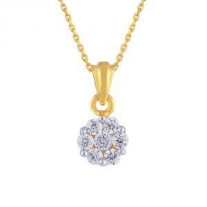 Buy Nakshatra Yellow Gold Diamond Pendant Npa099si-jk18y online