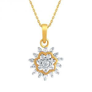 Buy Nakshatra Yellow Gold Diamond Pendant Npa158si-jk18y online