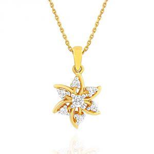 Buy Nakshatra Yellow Gold Diamond Pendant Npa274si-jk18y online