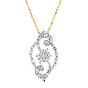Buy Nakshatra Yellow Gold Diamond Pendant Npa329si-jk18y online