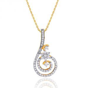 Buy Nakshatra Yellow Gold Diamond Pendant Npa335si-jk18y online