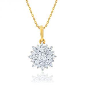 Buy Nakshatra Yellow Gold Diamond Pendant Npa360si-jk18y online