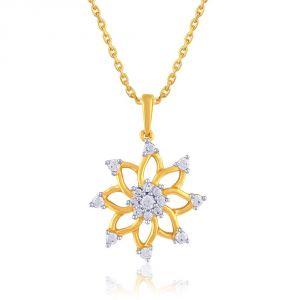 Buy Nakshatra Yellow Gold Diamond Pendant Npa509si-jk18y online