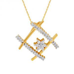 Buy Nakshatra Yellow Gold Diamond Pendant Npc021si-jk18y online