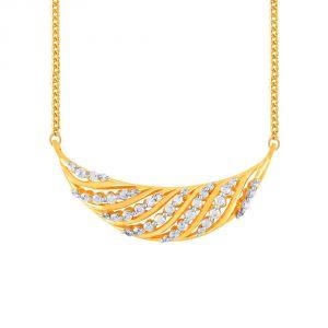 Buy Asmi Yellow Gold Diamond Tanmaniya Yp248si-jk18y online