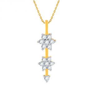 Buy Nakshatra Yellow Gold Diamond Pendant Ap788si-jk18y online