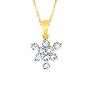 Buy Sangini Yellow Gold Diamond Pendant Ep693si-jk18y online
