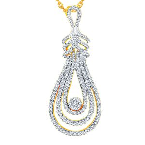 Buy Sangini Yellow Gold Diamond Pendant Aap539si-jk18y online