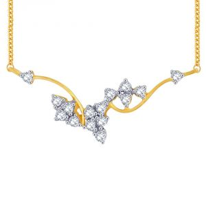 Buy Sangini Yellow Gold Diamond Tanmaniya Ap475si-jk18y online