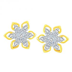 Buy Nakshatra Yellow Gold Diamond Earrings Baep792si-jk18y online