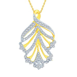 Buy Sangini Yellow Gold Diamond Pendant Dp560si-jk18y online
