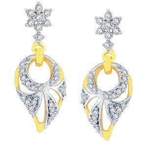 Buy Nakshatra Yellow Gold Diamond Earrings Aaep194si-jk18y online