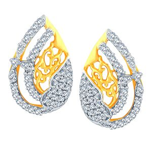 Buy Gili Yellow Gold Diamond Earrings Aaep600si-jk18y online