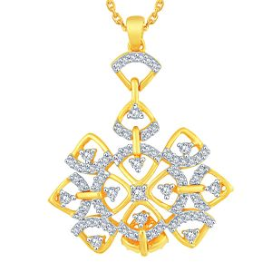 Buy Maya Diamond Yellow Gold Diamond Pendant Aap395si-jk18y online
