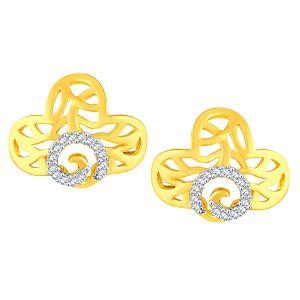 Buy Gili Yellow Gold Diamond Earrings Baep602si-jk18y online