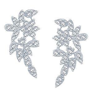 Buy Nakshatra Yellow Gold Diamond Earrings Abe036si-jk18y online
