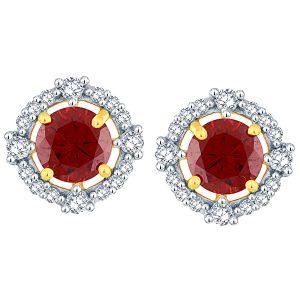 Buy Parineeta Yellow Gold Diamond Earrings Baep325si-jk18y online