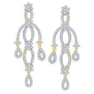 Buy Nakshatra Yellow Gold Diamond Earrings Nerb262si-jk18y online