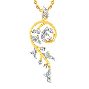 Buy Gili Yellow Gold Diamond Pendant online