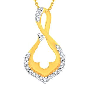 Buy Gili Yellow Gold Diamond Pendant P24b00181si-jk18y online