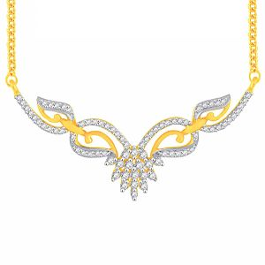 Buy Asmi Yellow Gold Diamond Tanmaniya Yp211si-jk18y online