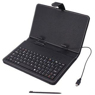 Buy 7 Inch Tablet Pouch Cover USB Keyboard Micromax Funbook Tablet