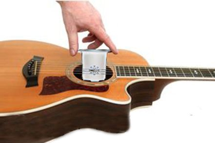 Gadget Hero's Silver Acoustic Guitar Humidifier Moisture Reservoir