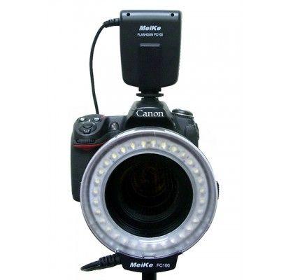 Buy Meike 48 LED Macro Ring Flash Light Fc100 For Nikon Canon