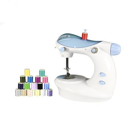 Buy Portable Mini Electric Double Stitch Sewing Machine With Thread Extraordinary Sewing Machine Threads Online India