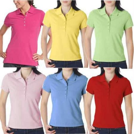 Buy Two Branded Collared T-shirts For Ladies Price and Features.Shop  Two Branded Collared T-shirts For Ladies Online.