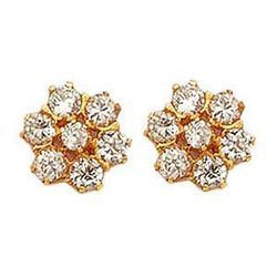 72c214f8c0d1f Buy Nakshatra Pattern American Diamond Studs Online | Best Prices in ...