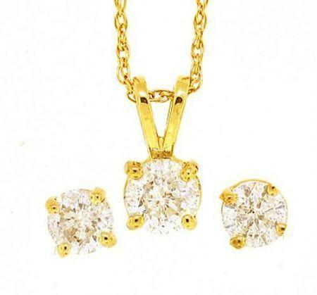 Buy stunning solitaire pure cz diamond pendant set online best buy stunning solitaire pure cz diamond pendant set online aloadofball Gallery